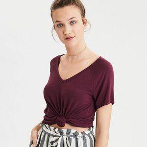 AE Soft & Sexy V-Neck T-Shirt XXS